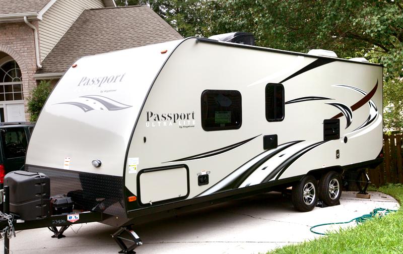 passport ultra lite travel trailer