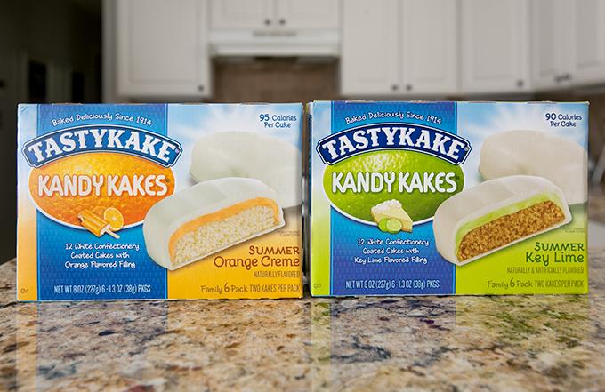 tastykake kandy kakes summer flavors