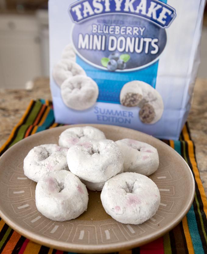 tastykake blueberry donuts