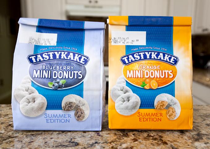 tastykake summer edition donuts