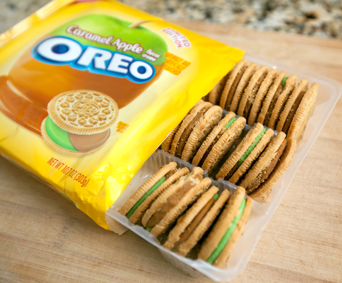 Caramel Apple Oreos Fall Limited Edition Flavor