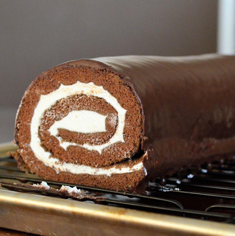 Little Debbie Swiss Cake Roll Copycat