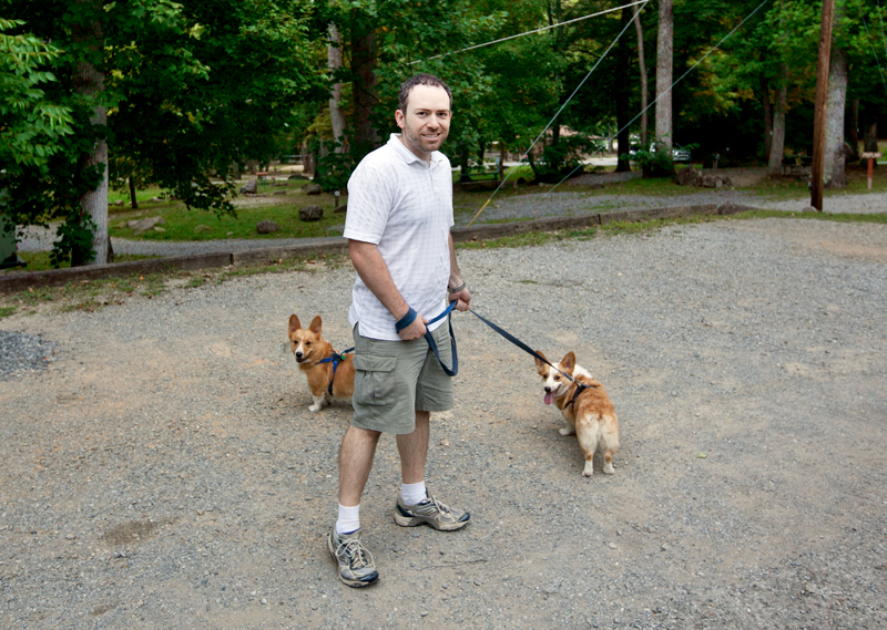 matt-and-corgis-at-campground