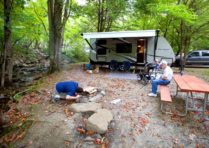 matt-making-a-campfire-with-parents
