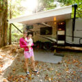 mom-and-baby-in-the-morning-in-front-of-camper