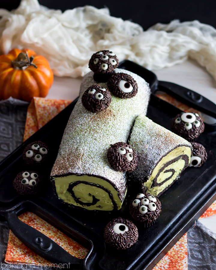 dark-chocolate-matcha-ghoul-log