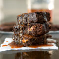 peanut-butter-stuffed-brownies-with-whiskey-caramel-03