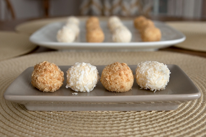 White Chocolate Lime Truffles