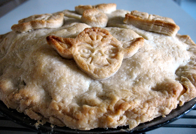 Food inspired by Star Wars - pie!