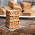 Glazed Eggnog Cookie Bars - use up that leftover eggnog during the holidays!