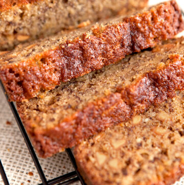 Peanut Butter Chip Banana Bread Recipe - this is one of the most delicious banana breads I have ever made!