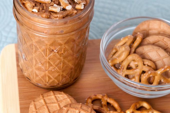 Peanut Butter Pretzel Crunch Cookie Butter