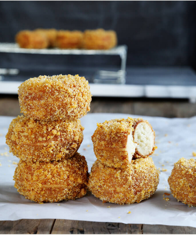 Hostess Copycat Recipes - homemade Crunch Donettes
