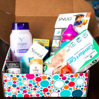 PINCHme Samples Box February 2016