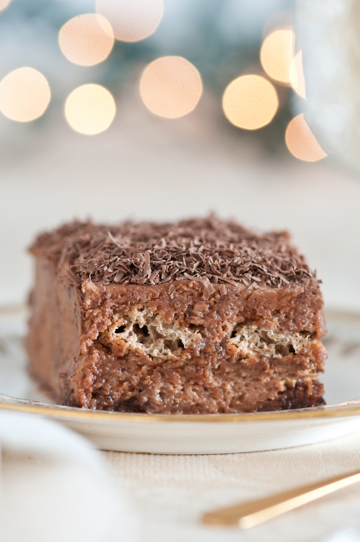Chocolate Amaretti Tiramisu - a list of no bake recipes for when you need chocolate NOW
