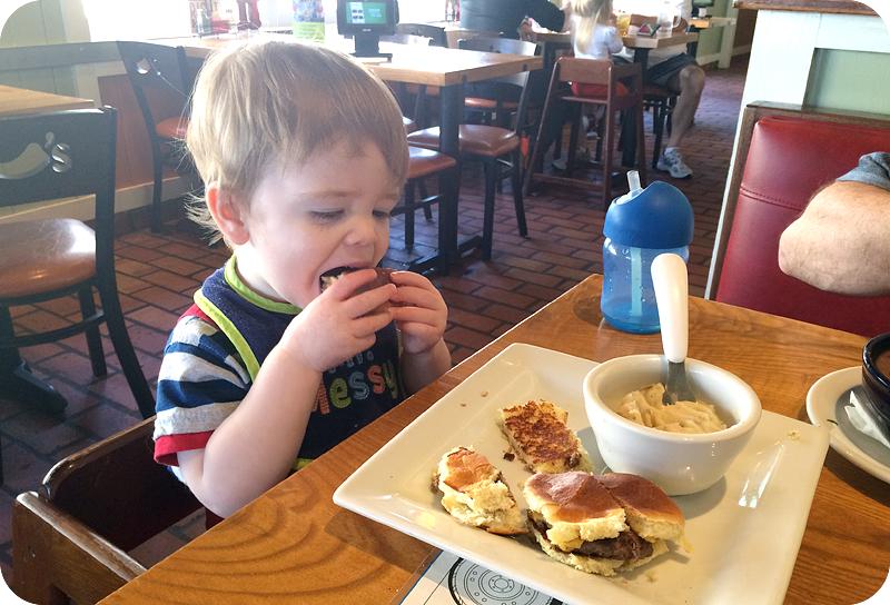 baby-eating-cheeseburger