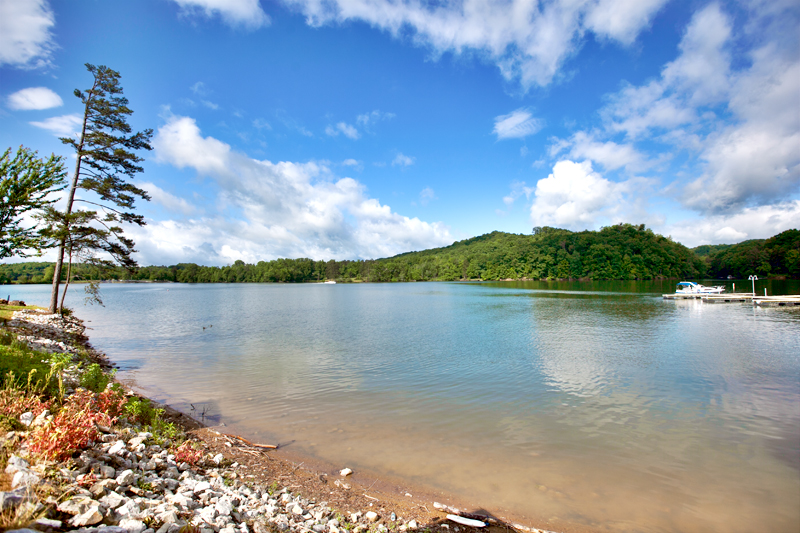 lake views at caney creek rv resort
