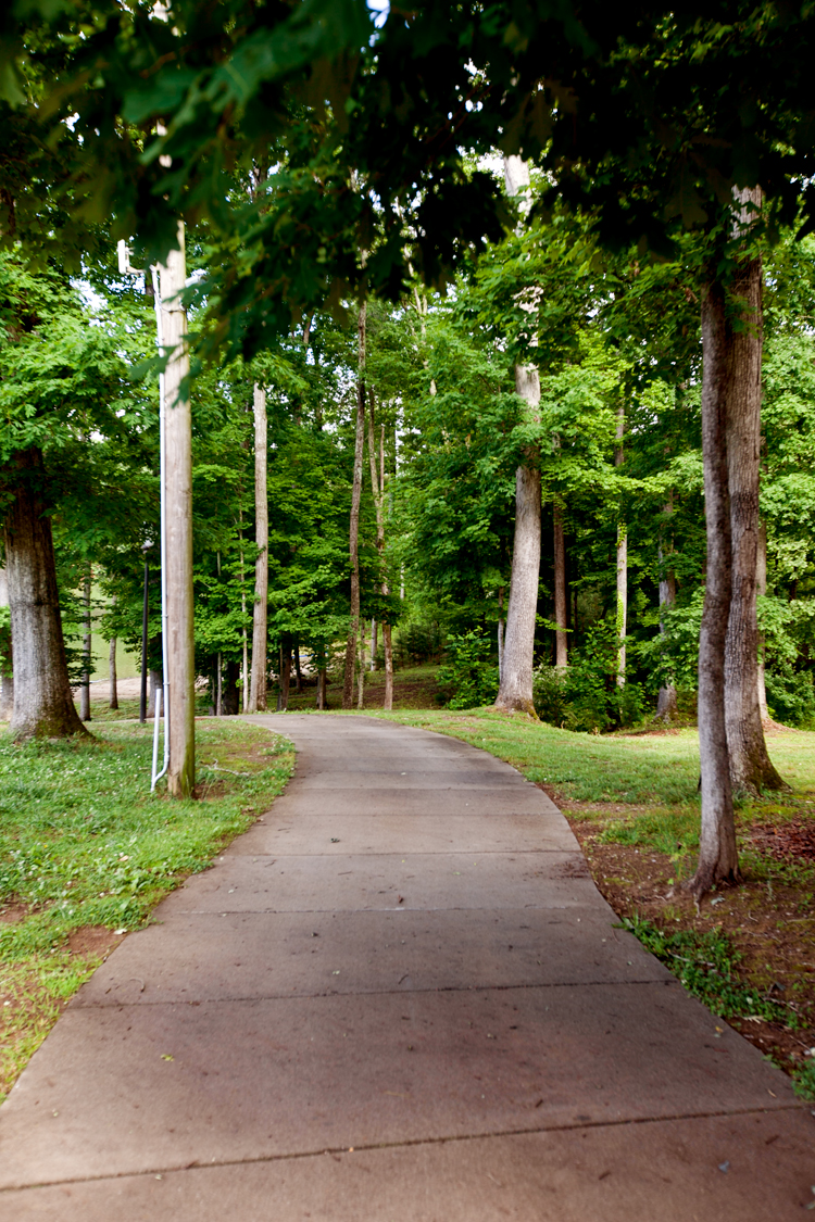 nature trail at caney creek rv resort