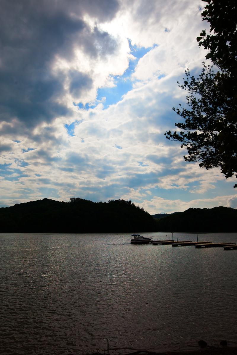cloud cover over watts bar lake