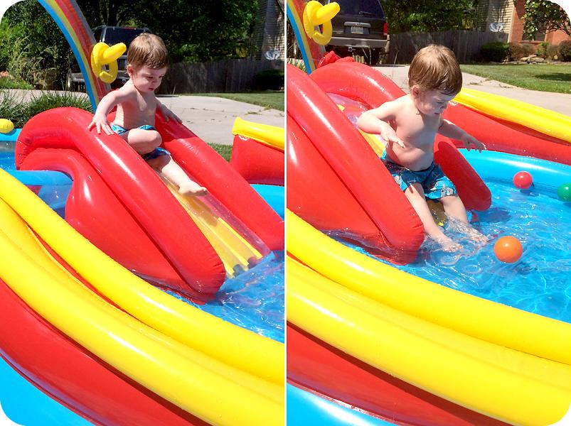 toddler-sliding-down-pool-slide