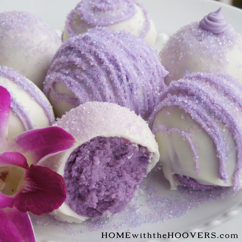 Lavender Cake Balls 8