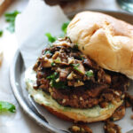 Asian Beef Burgers