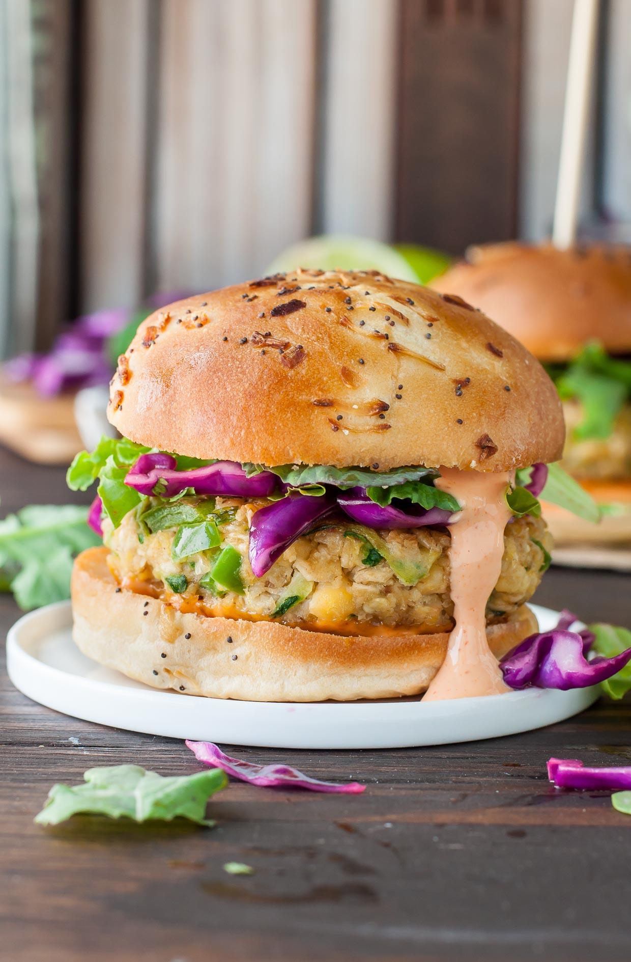 chickpea veggie burger recipe