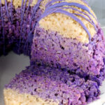 Easy Sofia the First Rice Krispies Treat Cake