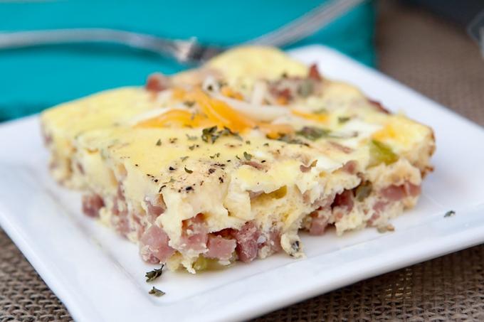 Easy Baked Breakfast Omelet