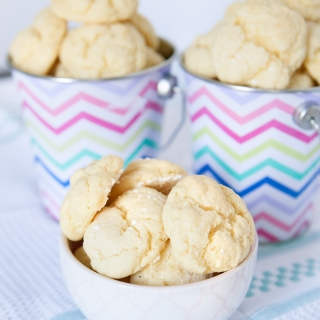 Soft Butter Cake Mix Cookies