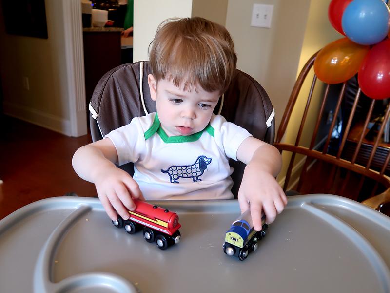 Easy 2nd birthday train party ideas!