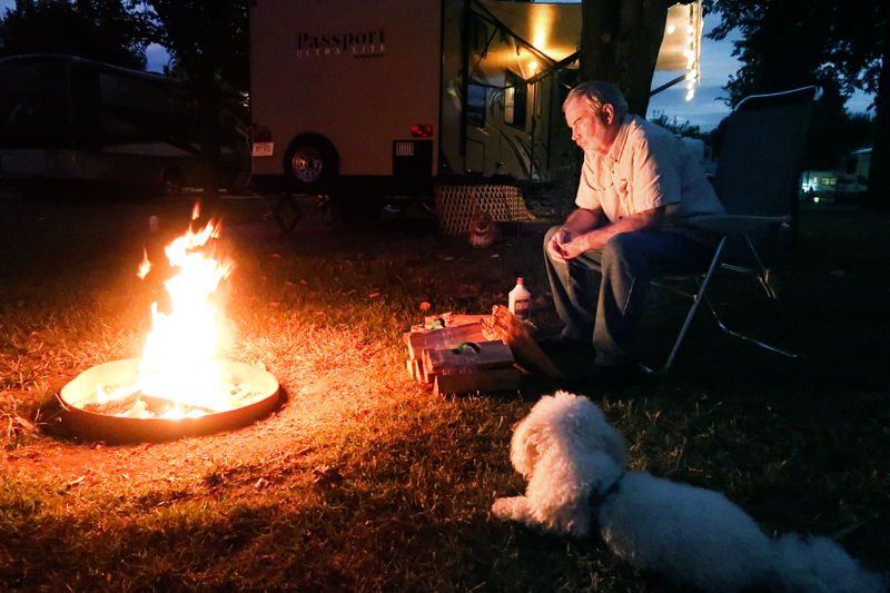 daddy-around-campfire