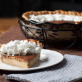 Toasted Milk Pie - this deliciously creamy custard pie uses toasted dry milk powder to add a nutty caramel flavor. You won't find this pie anywhere else!