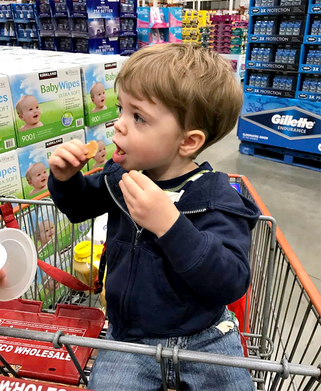 toddler-eating-costco-samples