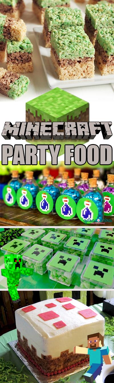 The Best Minecraft Party Food Ideas Brownie Bites Blog