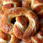 Soft homemade pretzels with a creamy, tangy beer cheese dip!
