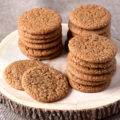 Chewy, perfect old-fashioned molasses cookies