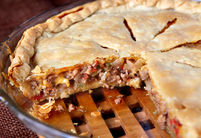 Quick and easy cheeseburger pot pie tastes exactly like a burger and ...