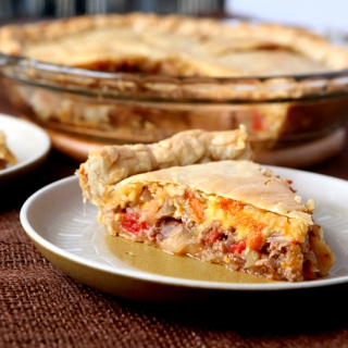 Quick and easy cheeseburger pot pie tastes exactly like a burger and is a perfect choice for a fast weekday dinner.