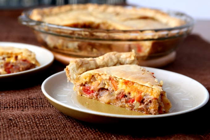 Easy Cheeseburger Pot Pie