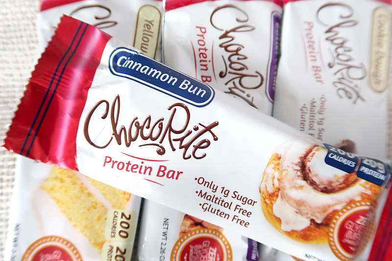 ChocoRite Cinnamon Bun Protein Bar Review