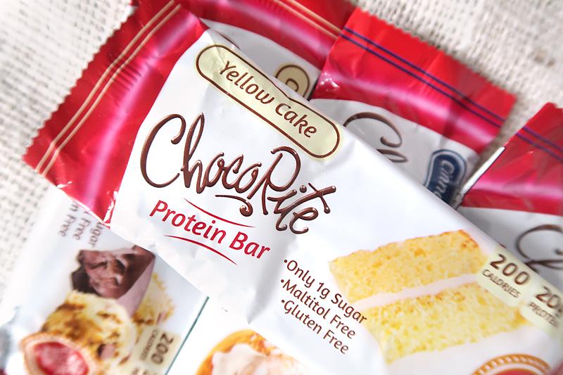 Yellow cake ChocoRite Protein Bar Review