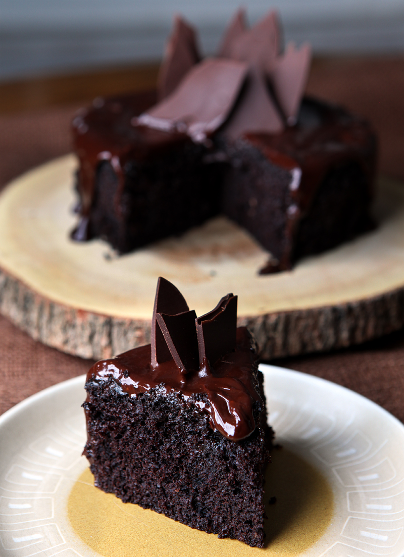 Chocolate Brownie Cake Recipe From Scratch