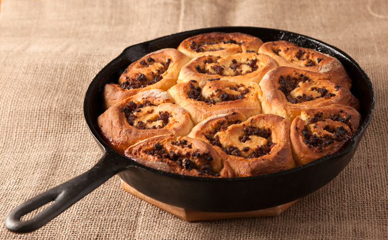 Prepare these sticky ooey gooey sausage honey buns at night and then pop them into the oven in the morning for a super special occasion breakfast idea.