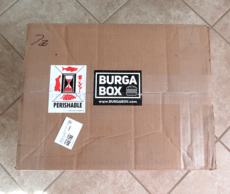 BurgaBox subscription box unboxing and review