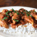 Quick and Easy Chicken Tikka Masala - no marinating time needed, perfect for a weeknight dinner! Such an easy way to recreate a favorite indian dinner recipe.
