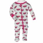 KicKee Pants Muffin Ruffle Pajamas