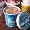 Enlightened low calorie ice cream