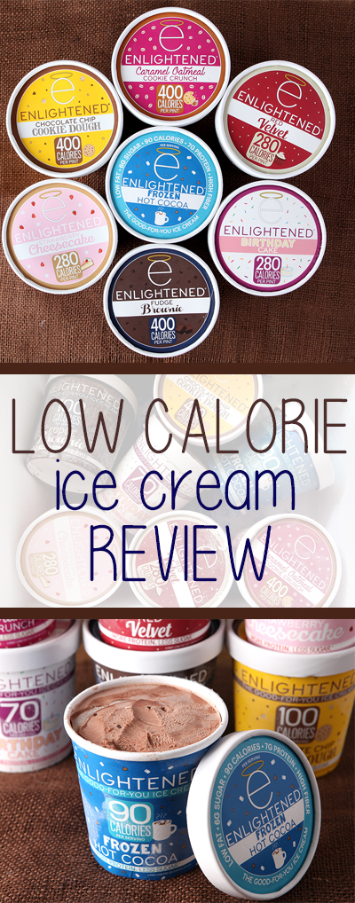 Enlightened low calorie high protein ice cream review.