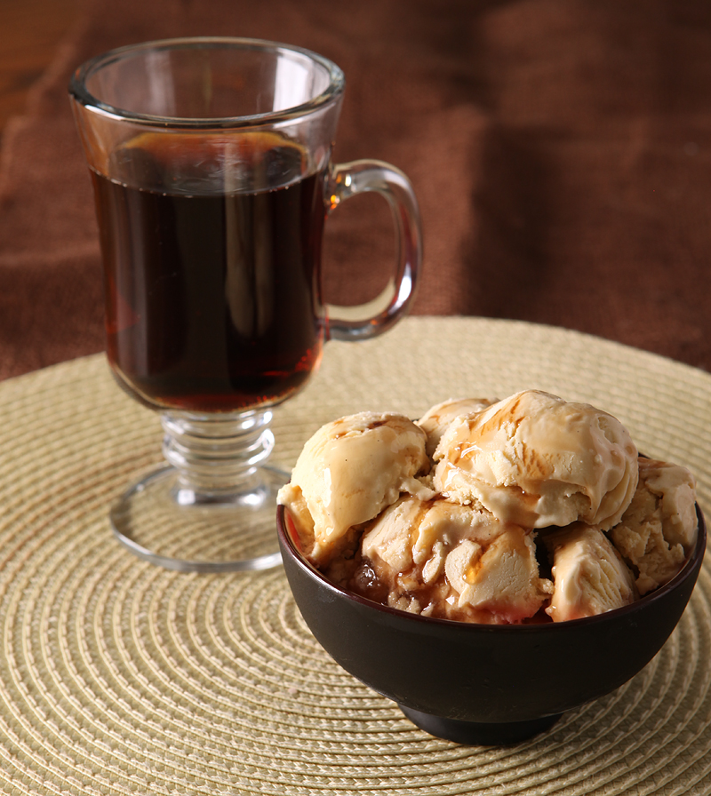 Butterbeer Ice Cream inspired by the ubiquitous beverage of choice of the Harry Potter gang. My version of this dessert uses cooked down cream soda and has a nice boozy kick - just enough to give it a refined adult friendly flavor.